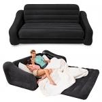 Intex 68566 надувной раскладной диван - 193х231х71 см