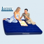 Intex 68758 надувной матрас-полуторка 137х191х22см