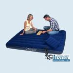 Intex 68765 двуспальный надувной матрас - 152х203х22см