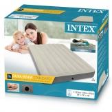 Intex 64708 полуторный надувной матрас - 137х191х25 см