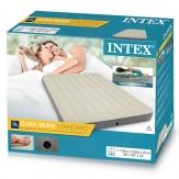 Intex 64709 двухместный надувной матрас - 152х203х25см
