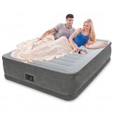 Intex 64414 высокая надувная кровать - 203х152х46см