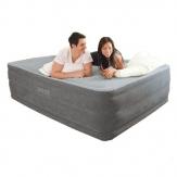 Intex 64418 высокая надувная кровать - 203х152х56см
