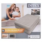 Intex 64446 высокая надувная кровать - 203х152х51см