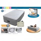 INTEX 67766 надувная односпальная кровать 99x191x33 см